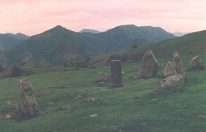 Cromlech in the Baztan Valley (Navarre)