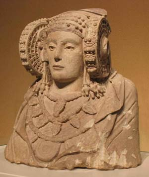 Iberian art. The Lady of Elx (centuries 5th-4th BC)
