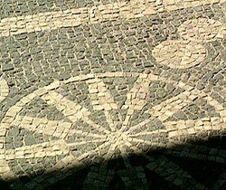 Floor mosaics from the main Roman city in the Caristii territory, Iruña-Veleia, near Vitoria-Gasteiz (Álava)